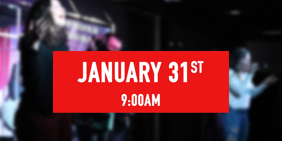 January 31st - 9AM Service