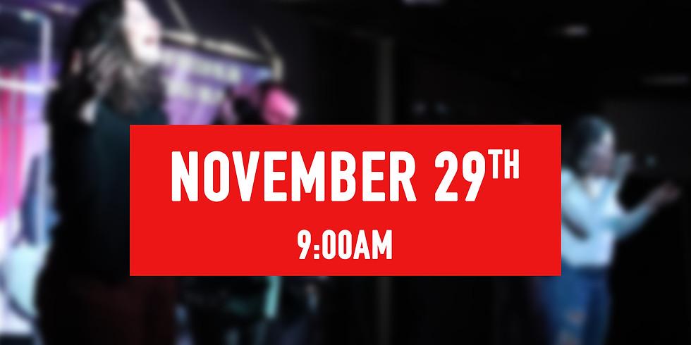 November 29th - 9AM Service
