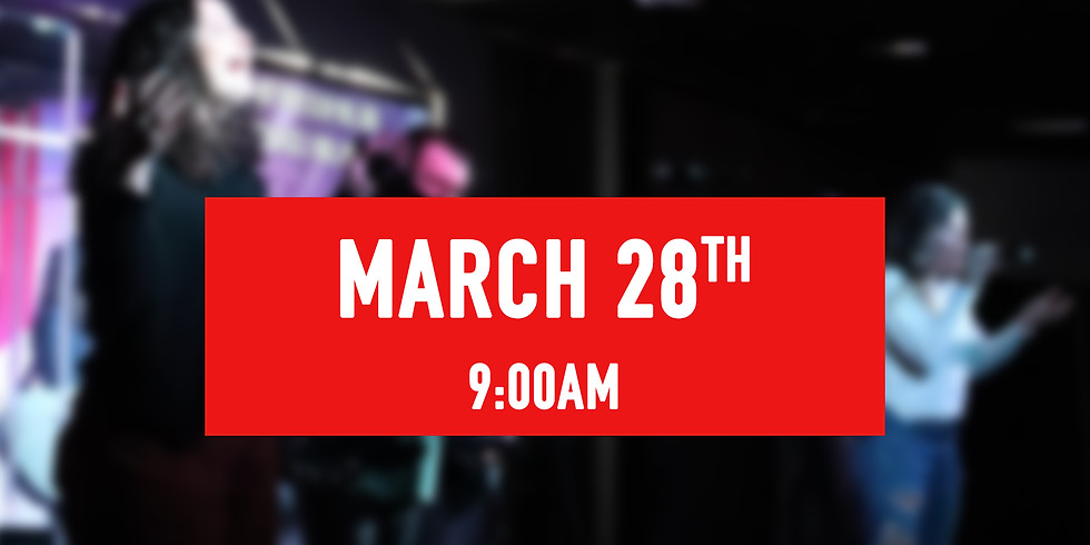 March 28th - 9AM Service