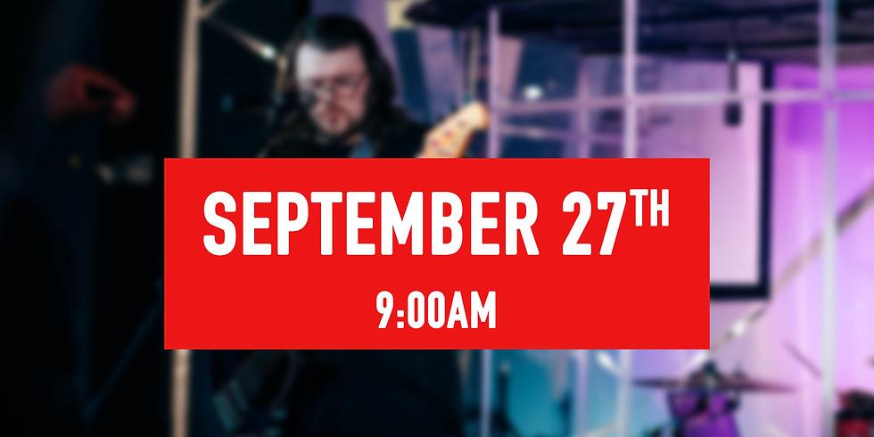 September 27th - 9AM Service