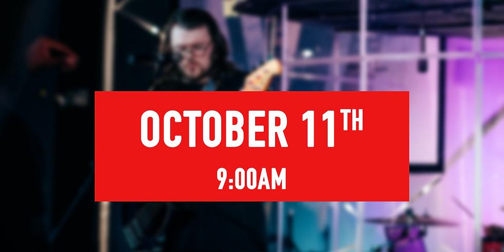 October 11th - 9AM Service