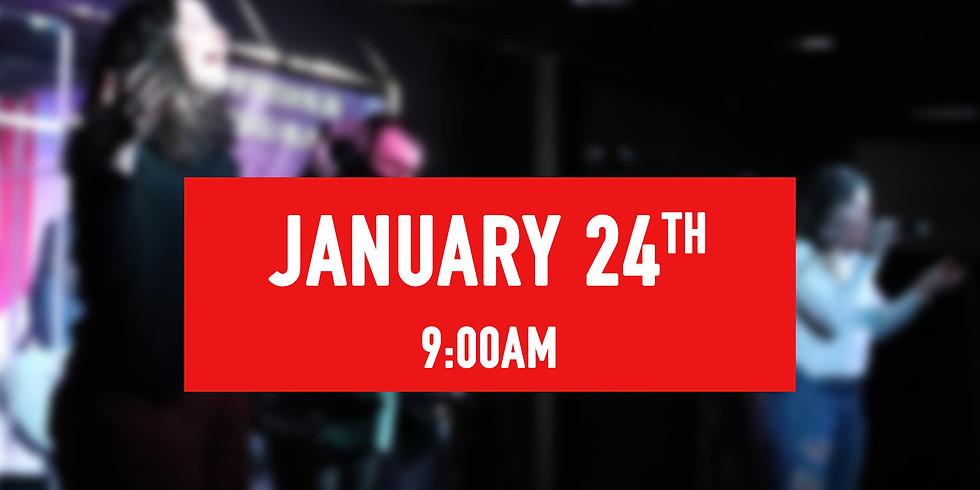 January 24th - 9AM Service
