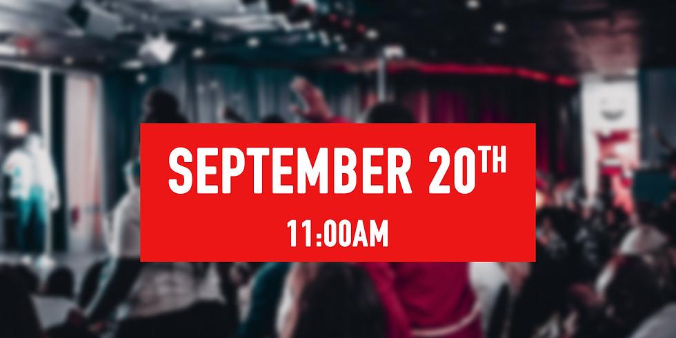 September 20th - 11AM Service