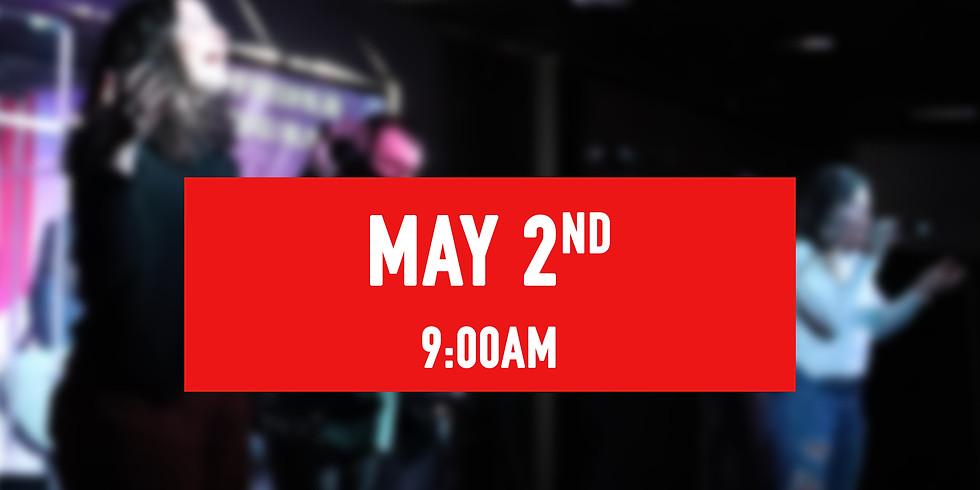 May 2nd - 9AM Service