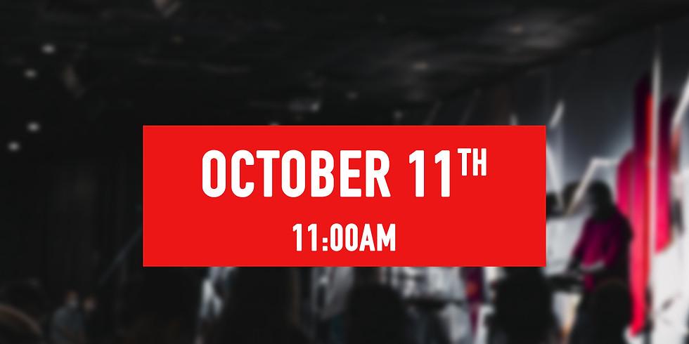 October 11th - 11AM Service