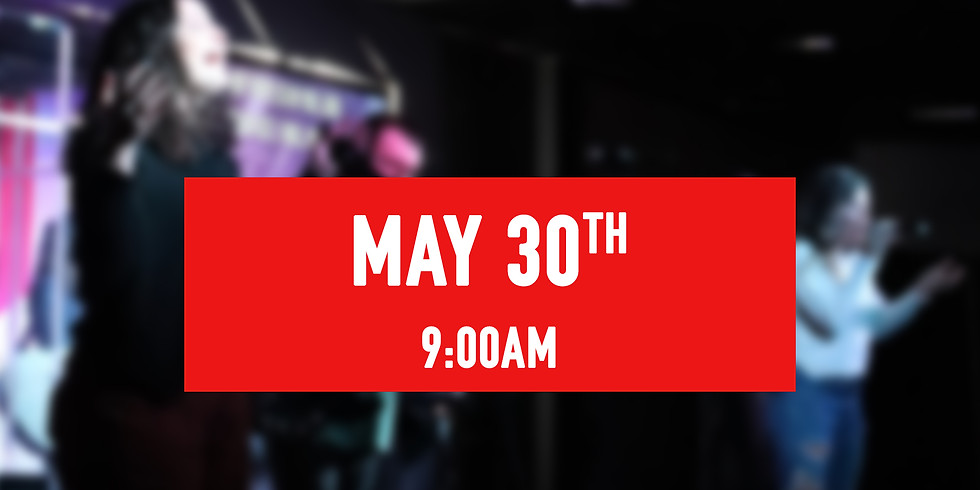 May 30th - 9AM Service