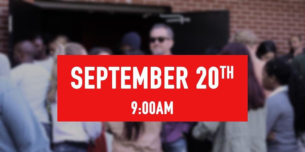 September 20th - 9AM Service