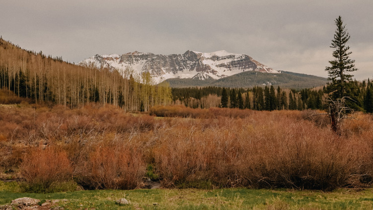 Camping in Telluride, CO