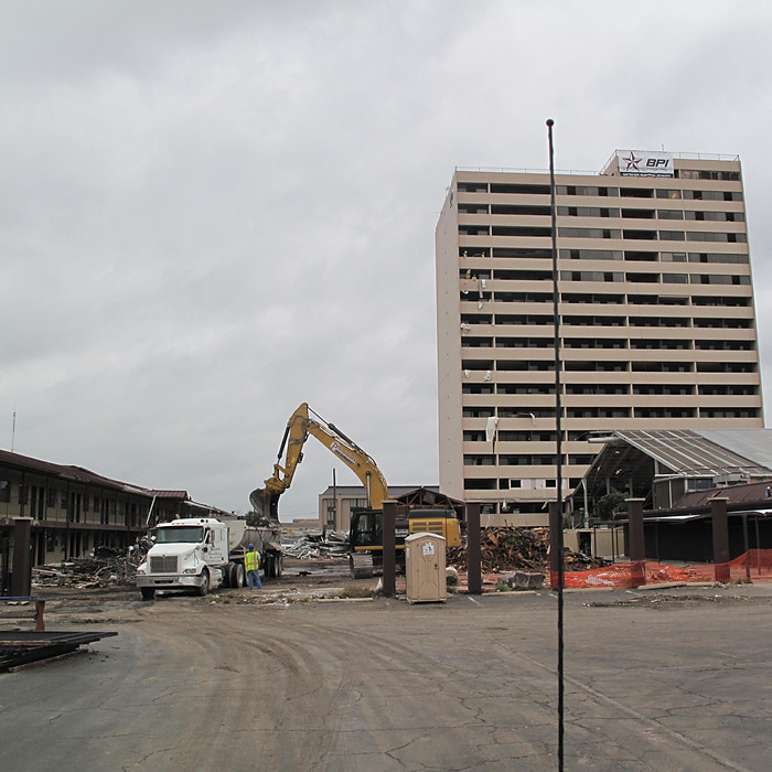 Plaza Hotel Demolition