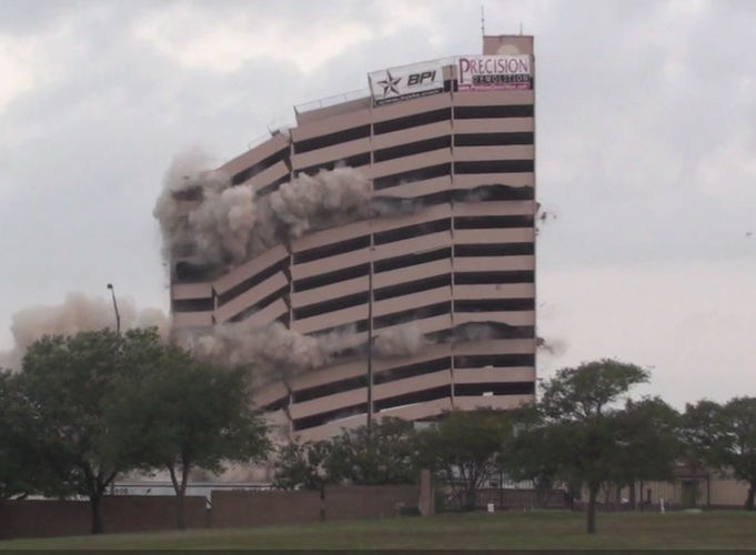 Precision Demolition Implosion