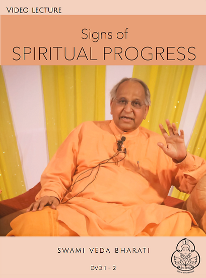 Signs of Spiritual Progress
