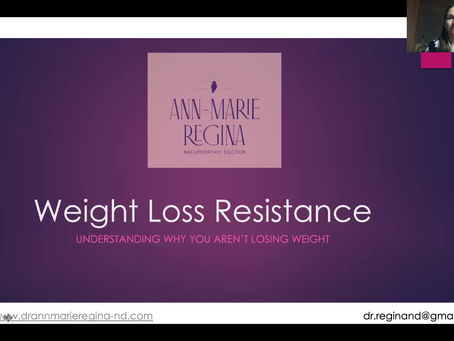 Weight Loss Resistance: Webinar Replay