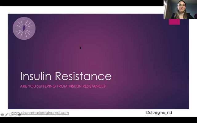 The in's and out's of insulin resistance: webinar replay!