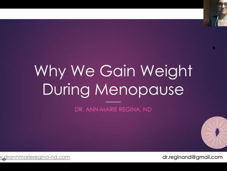 Why We Gain Weight During Menopause: Webinar Replay!