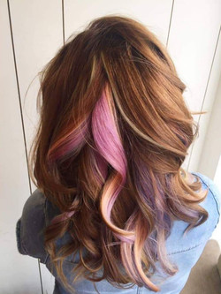 Multicoloured Hair