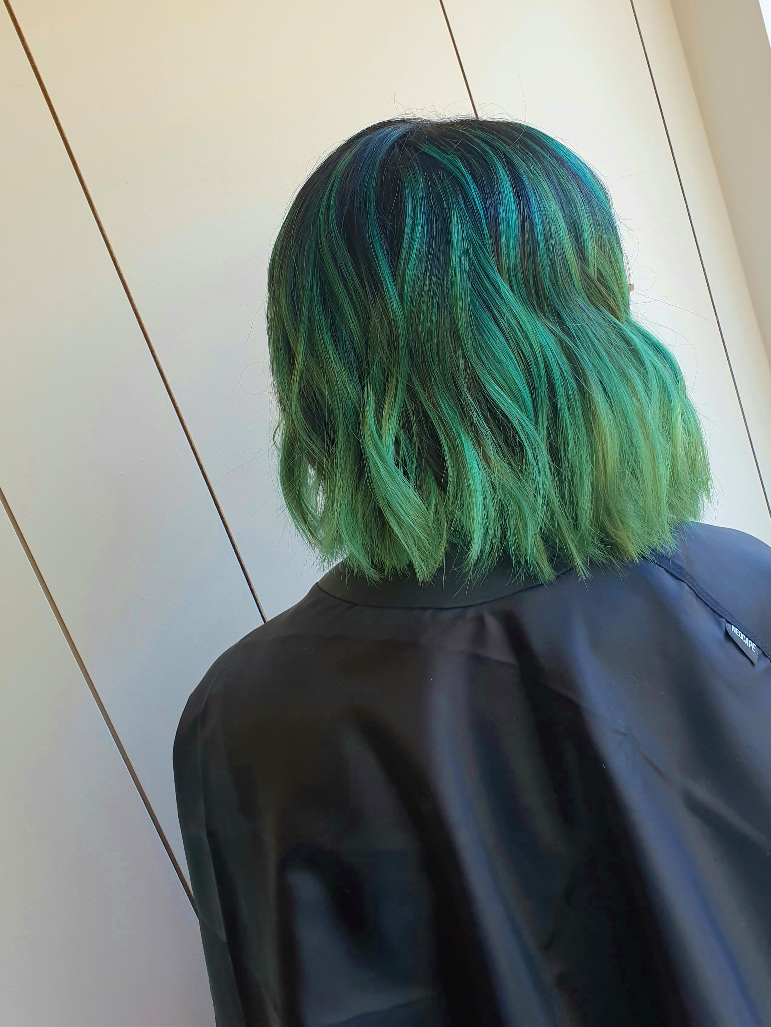Green Balayage