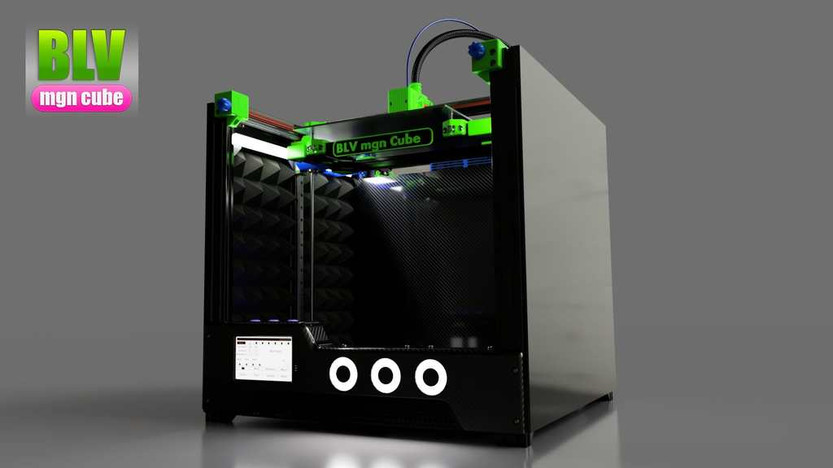 blv mgn cube by ben levi - front view..j