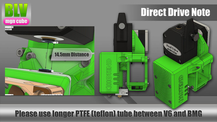 Note about the Direct drive