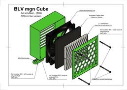 BLV mgn Cube -Air scrubber BIG version