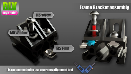 Frame bracket assembly