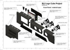 BLV mgn Cube - Front Panel