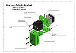 BLV mgn Cube Dual Drive - direct drive mount