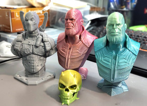 Print sample from BLV mgn Cube 3D Printer