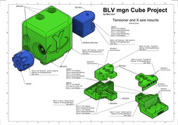BLV mgn Cube - Y axis and Front corner