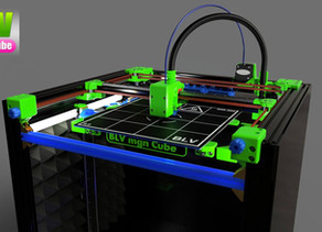 Reninforcment for hIgher Z axis - BLV mgn Cube