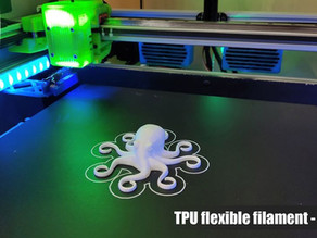 TPU experience with BLV mgn Cube 3D Printer