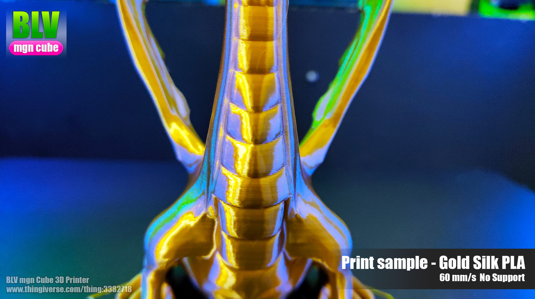 blv mgn cube by ben levi - print sample