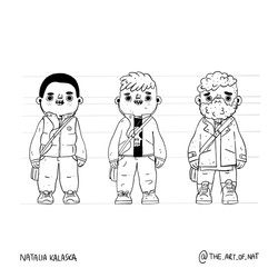 Character concepts - boy