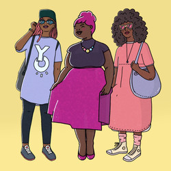 Character concept - black women