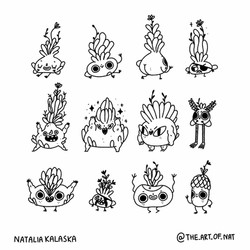 Character concept - monsters