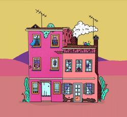 Background design - Building