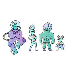 Character concept - alines