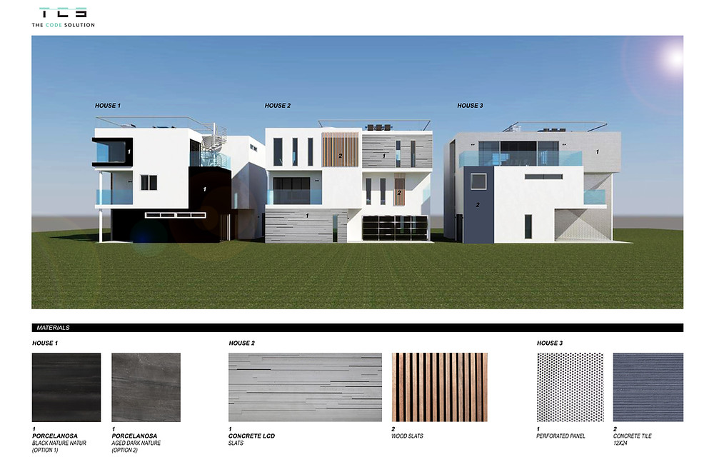 Architectural design plans for 1900 Penmar in Venice, CA