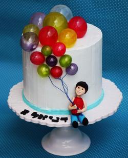 עוגת בלונים