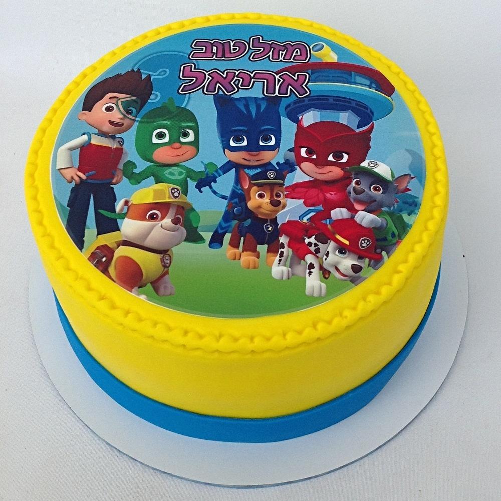 עוגת כוח פי ג'יי