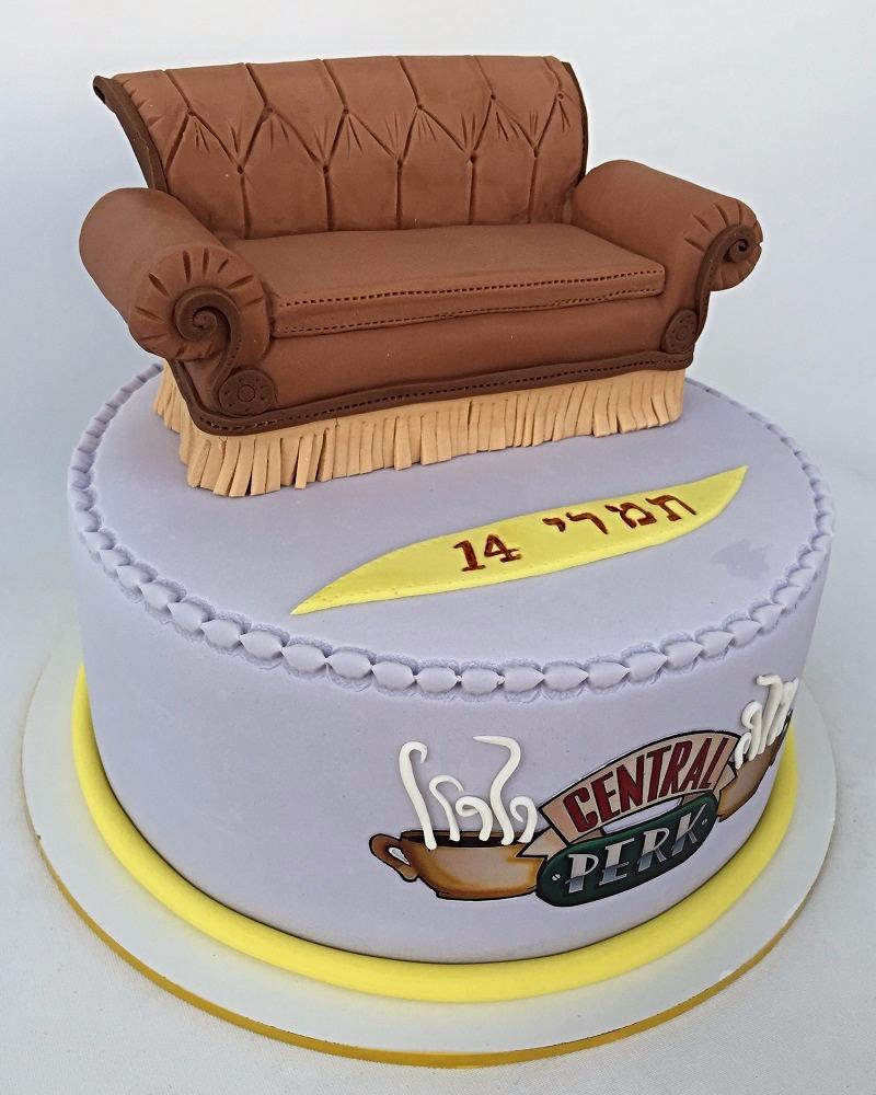 Central Perk cafe cake