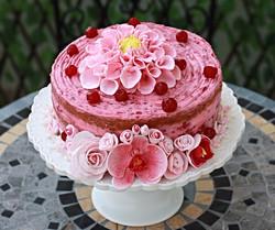 עוגת פרחי סחלב