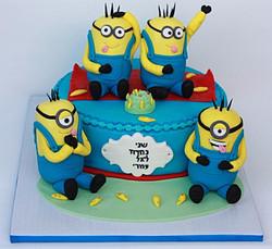 עוגת מיניונים
