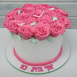 עוגת פרחים