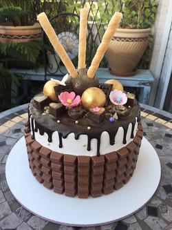 עוגת ממתקי שוקולד