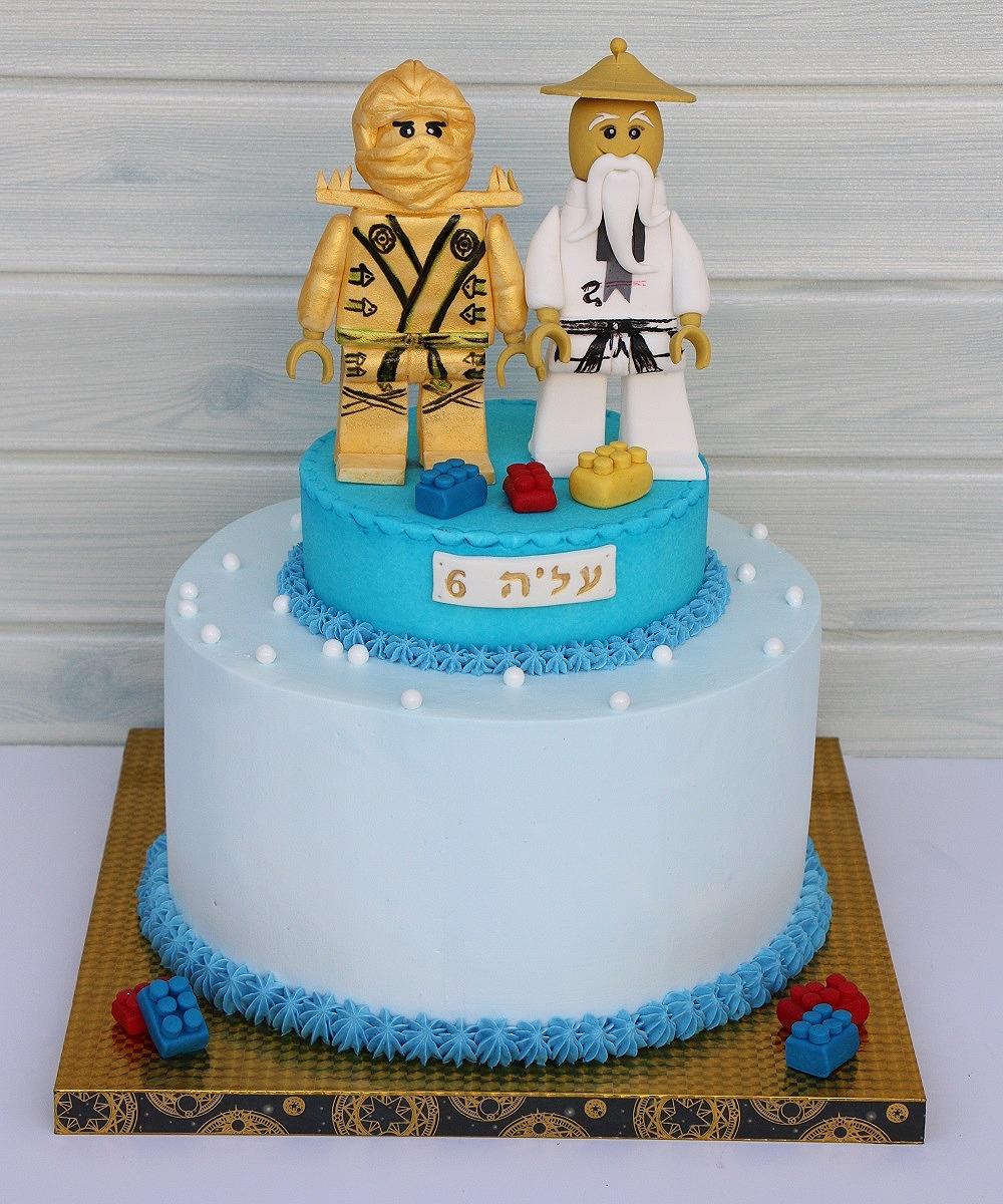 עוגת לגו נינגגו