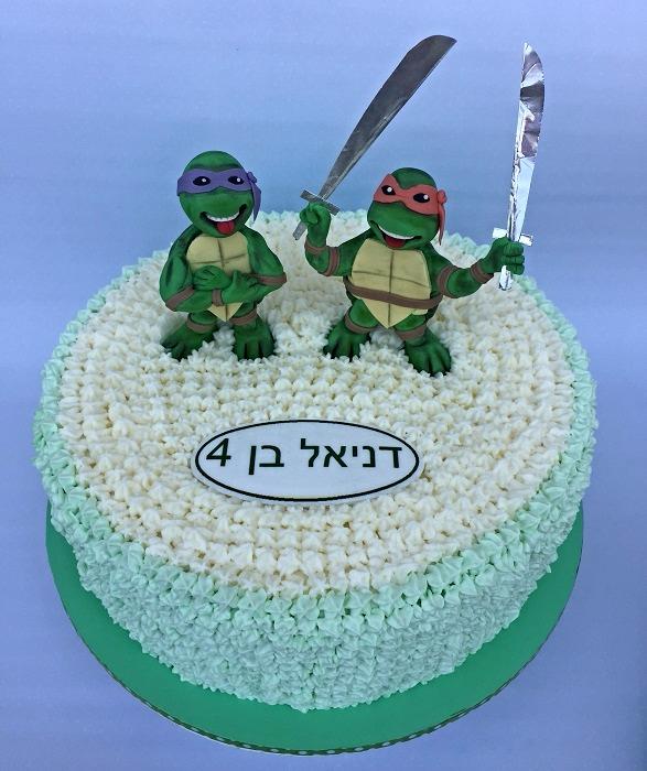 עוגת צבי הנינג'ה