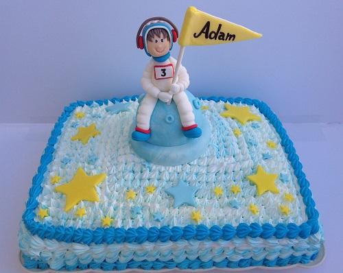 עוגה מעוצבת | אסטרונאוט