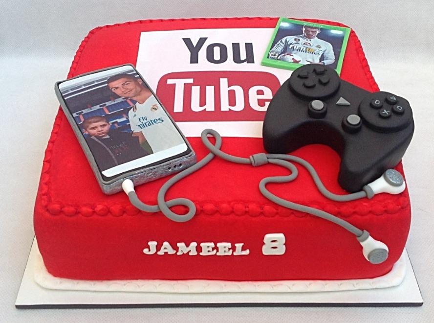 עוגת יוטיוב