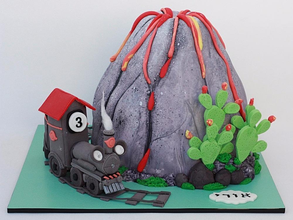 עוגת הר געש