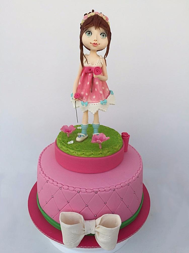 עוגת ילדה